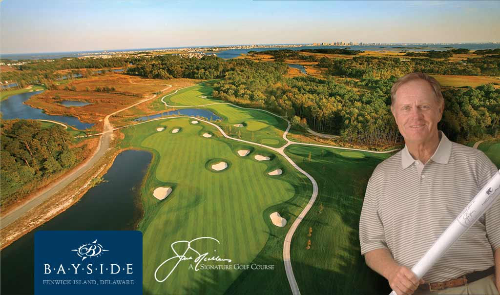 Bayside golf course country club fenwick island Delaware personal trainer health fitness shawn rene zimmerman