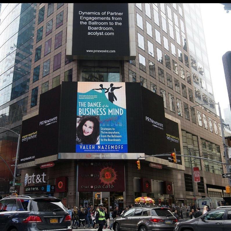 Dance of the business mind New York Times best seller Valeh Nazemoff shawn rene zimmerman