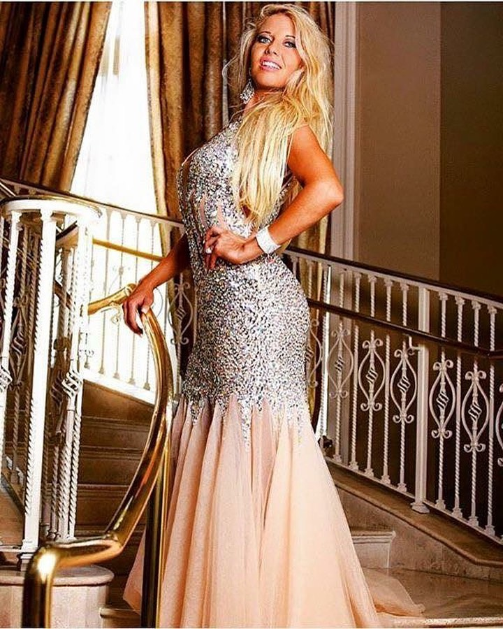 Shawn Rene zimmerman Miss universe designed gown tony bowls