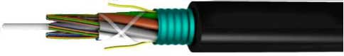Stranded Armored Loose Tube Fiber Optic Cable