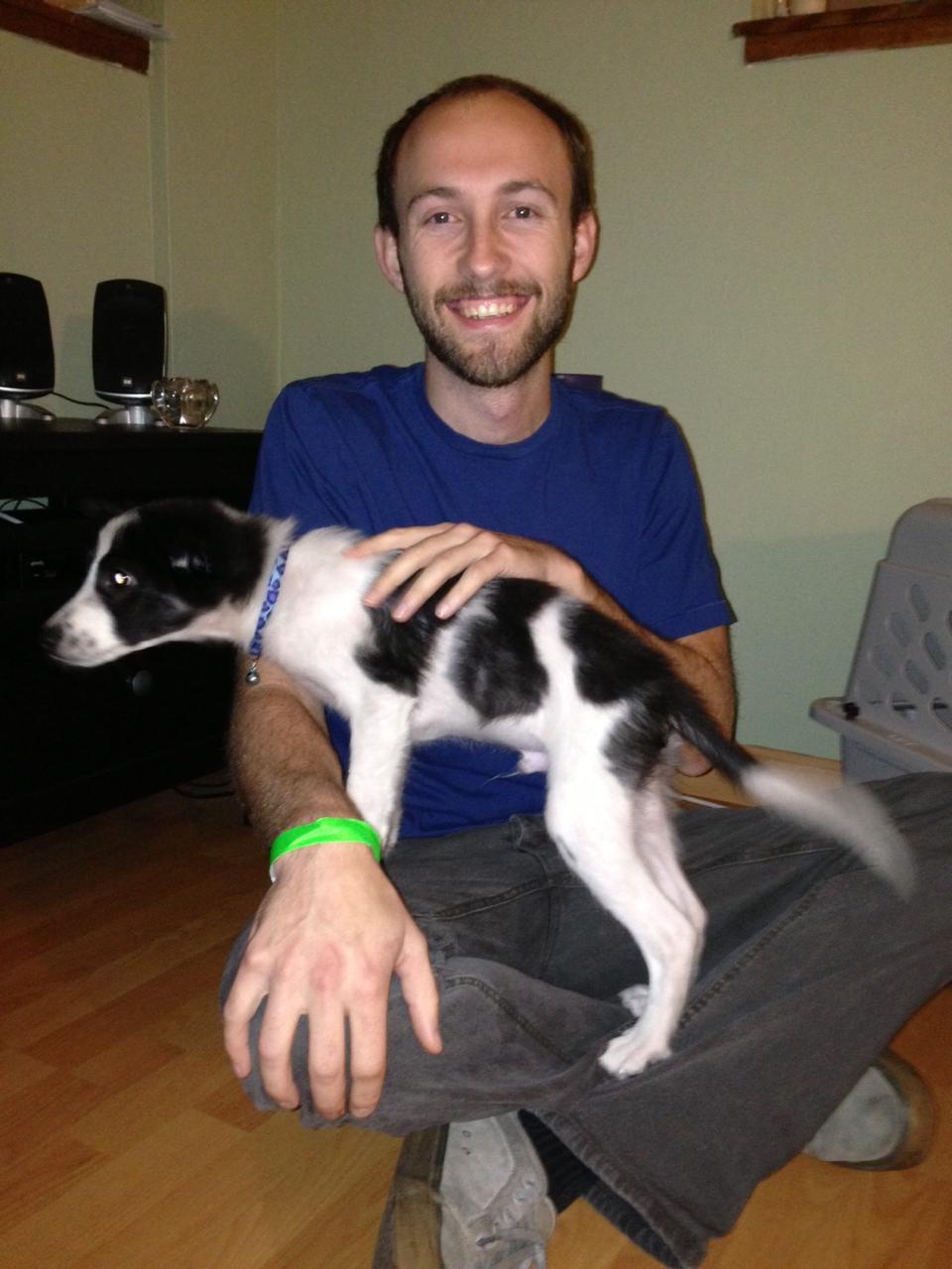 Cutie pie Ryan with daddy