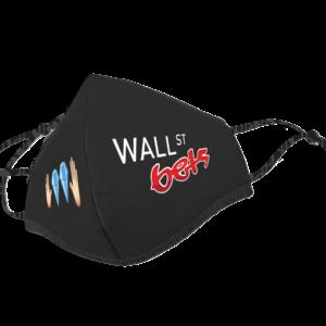 Wallstreet Bets Logo Face Mask