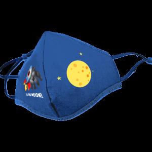 Wallstreet Bets Logo Face Mask - Blue