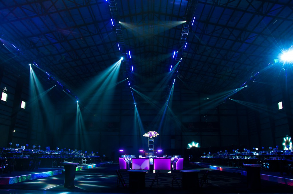 Special Event Lighting and Fabrication