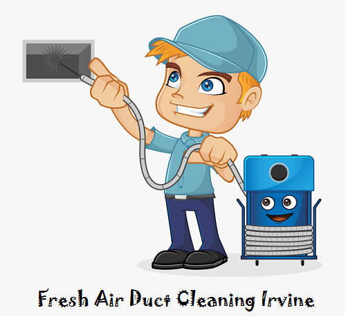 fresh air duct cleaning irvine logo