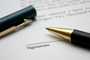 Legal Documents: How you sign is as important as what you sign
