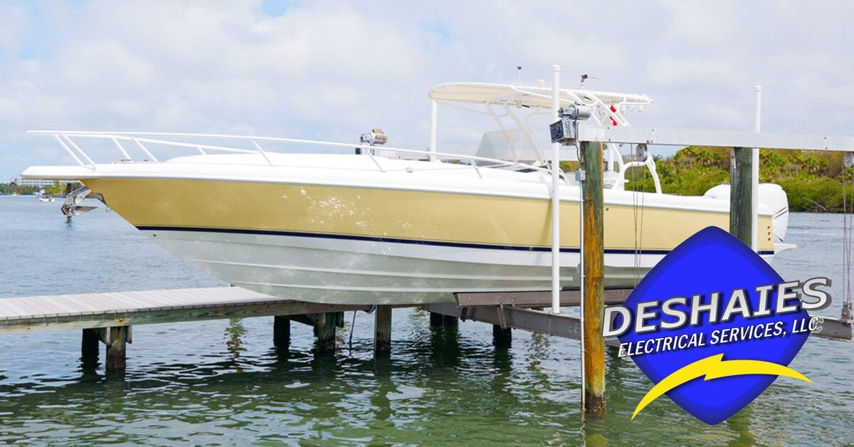 Electricity for Your Pier and Boat Lift