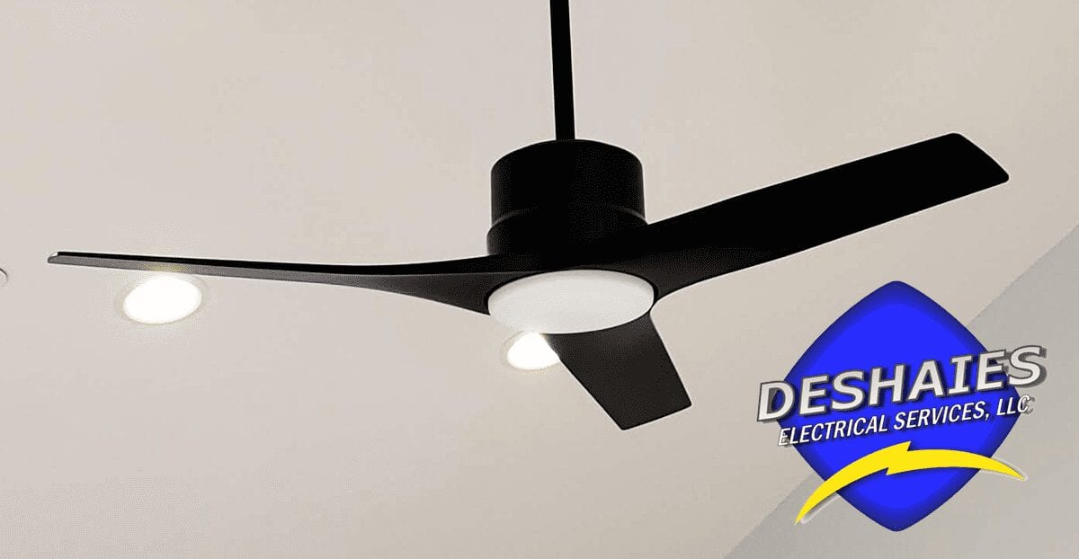 When Should an Electrician Install Your Ceiling Fan