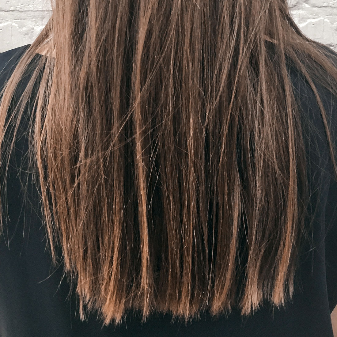 Brazilian Blowout - Hair in Layered before