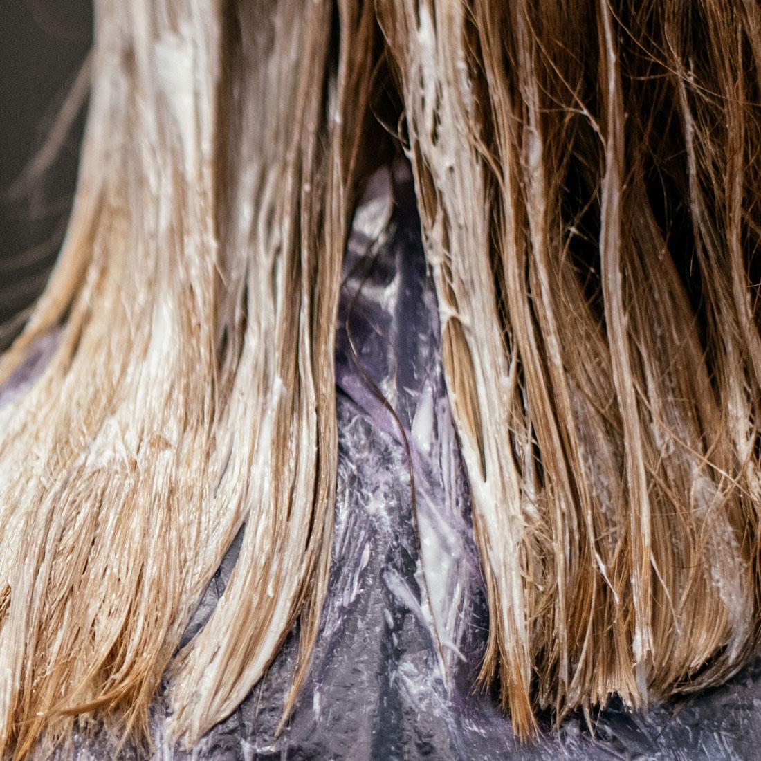 Hair Color Correction at Hair Salon