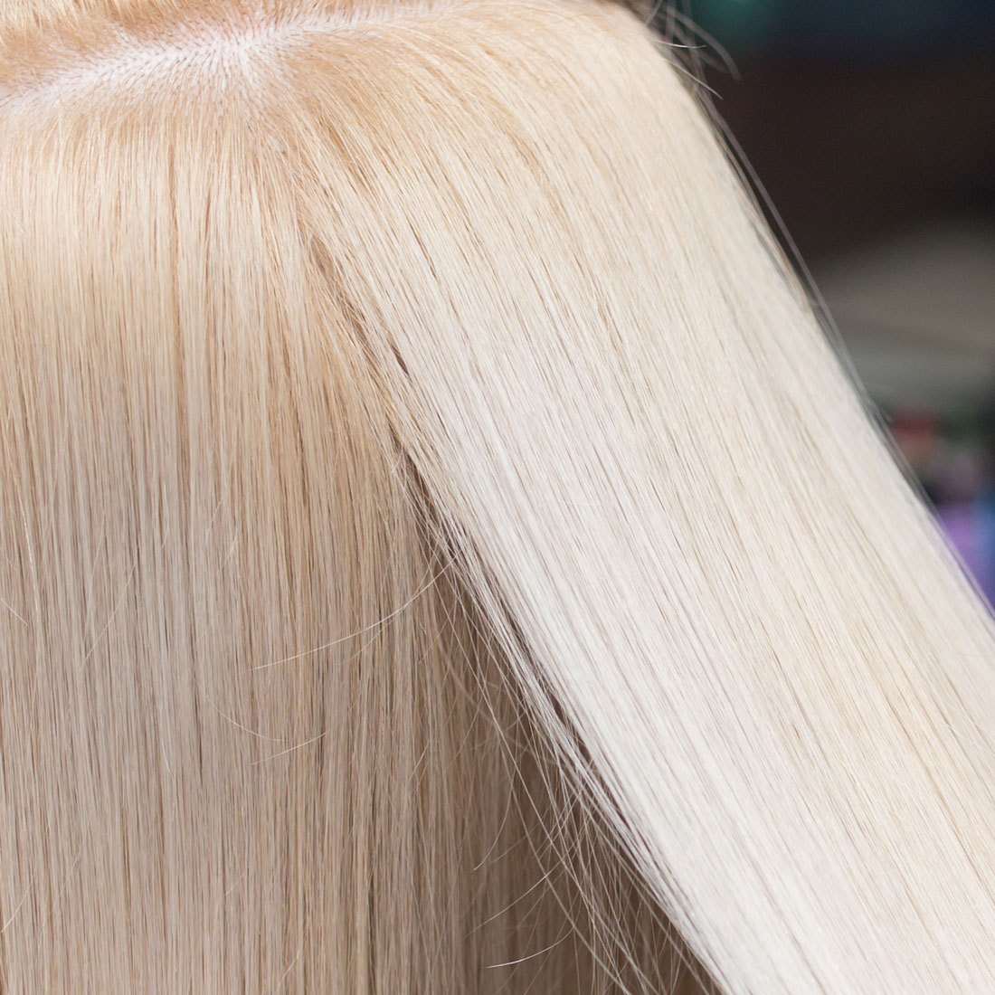 Hair getting blow dry