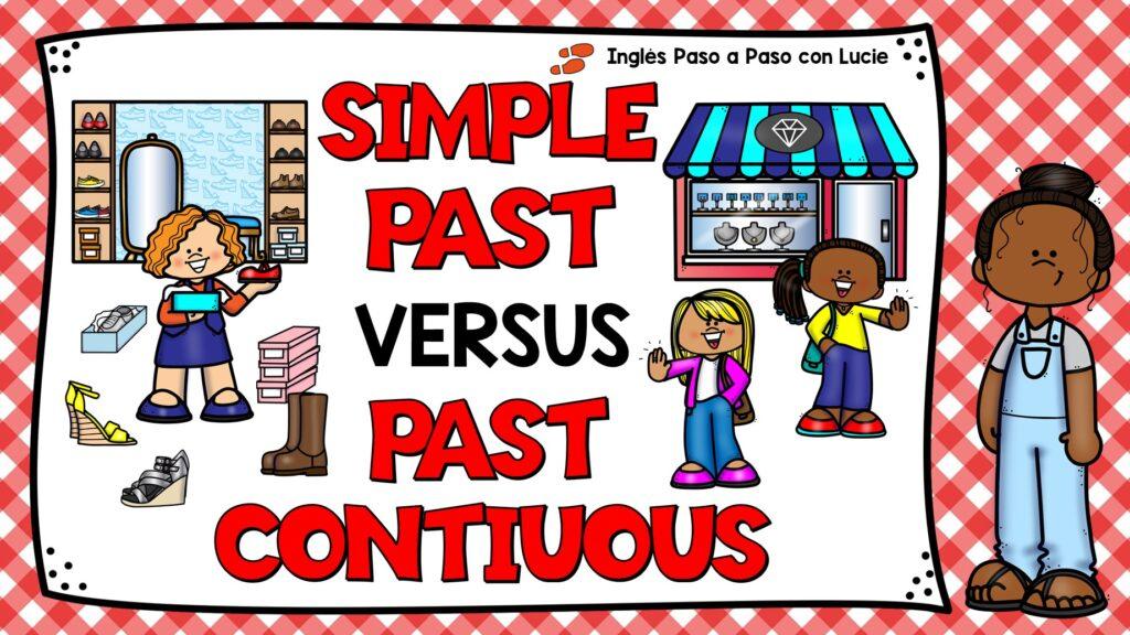 diferencia entre pasado simple y pasado continuo en ingles