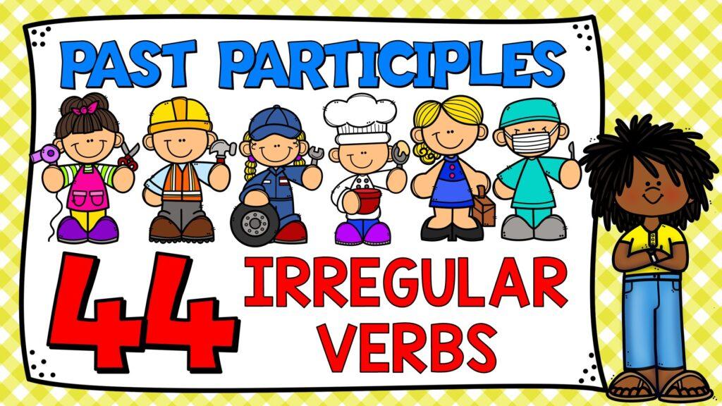 pasado participio en ingles - verbos irregulares en ingles