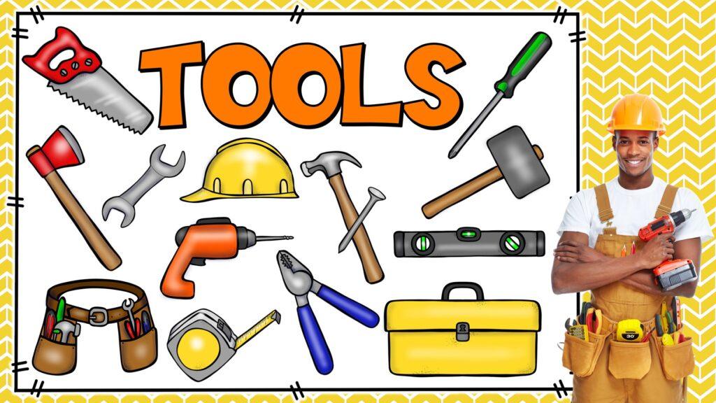 nombres de herramientas en ingles