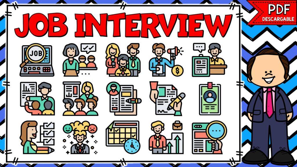 palabras en inglés para una entrevista de trabajo