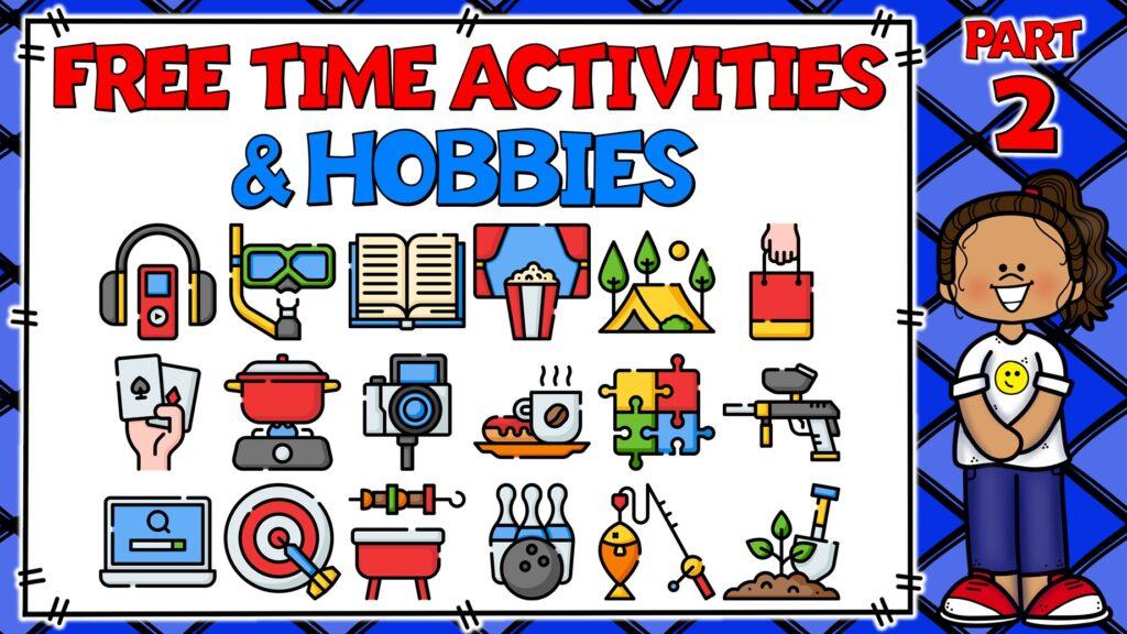 actividades de tiempo libre en inglés