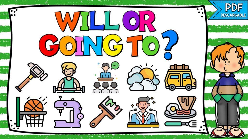 cuál es la diferencia entre will y going to