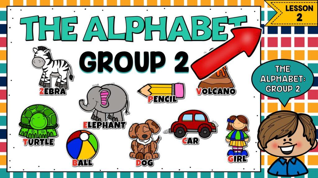 el alfabeto en ingles