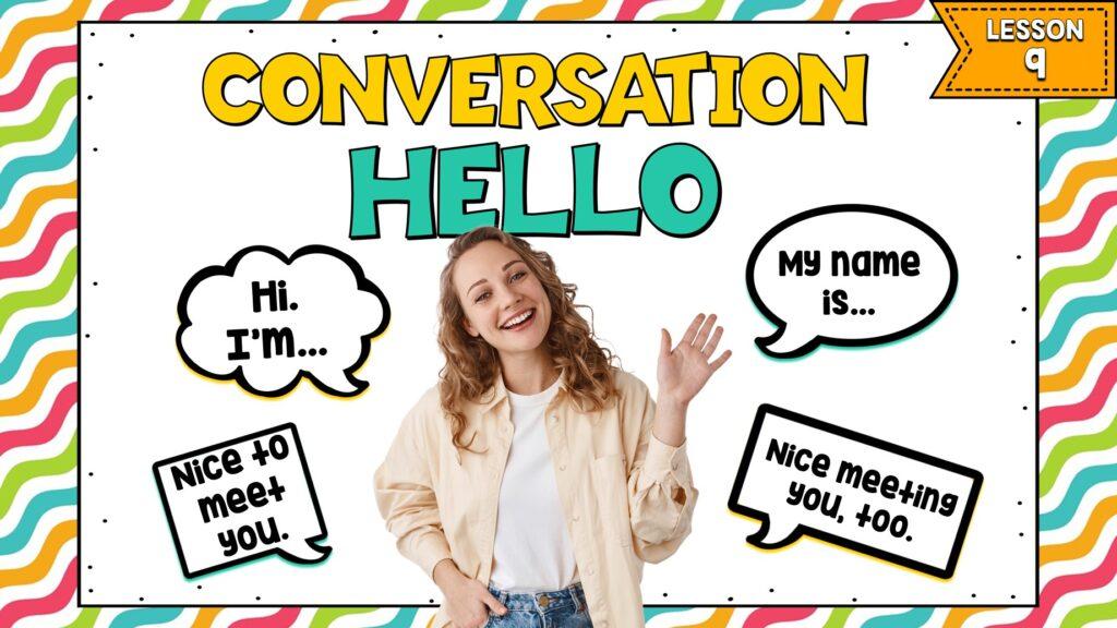 conversación en inglés para principiantes cómo usar nice to meet you