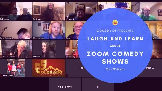 Laugh and Learn about Zoom Comedy Shows