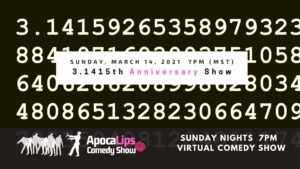 ApocaLips Comedy Show March 14