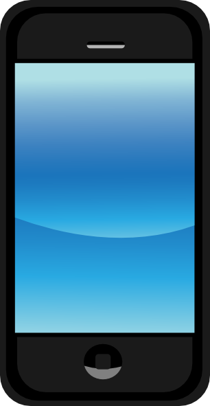 image of a smart phone for social media