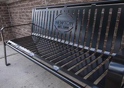 Laser cut fabrication bench