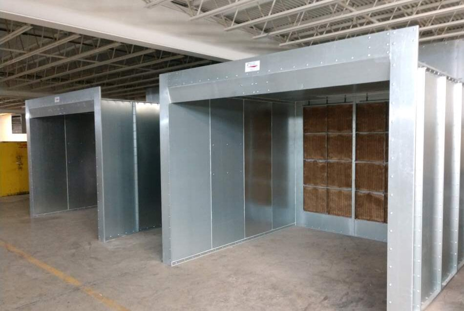 Booth Enclosure Panels