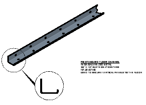 Floor Channel Connection
