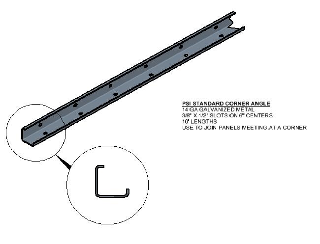 Corner Angle Panel Connection
