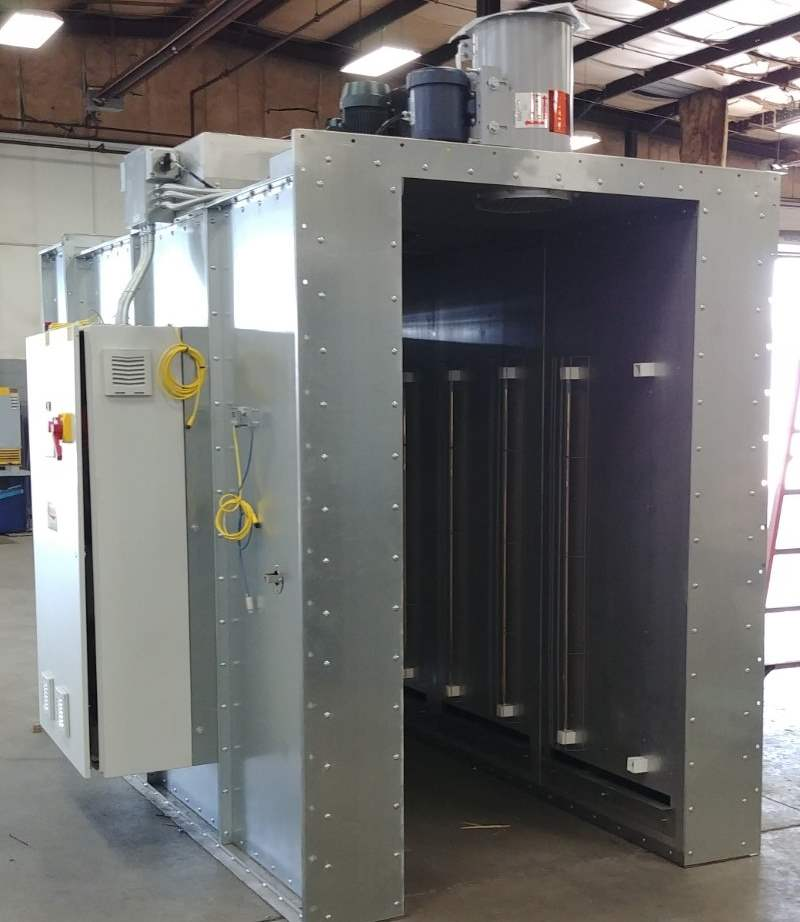 Halogen/Convection Cure Ovens