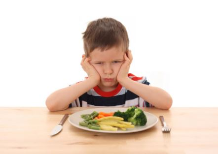 Child Refusing Food