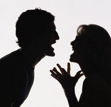 Husband And Wife Fighting