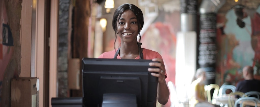 african-american-woman-at-restaurant-register