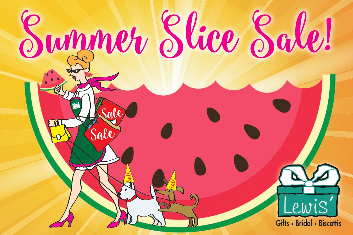 LGIFT Summer Slice Direct Mail Page 1