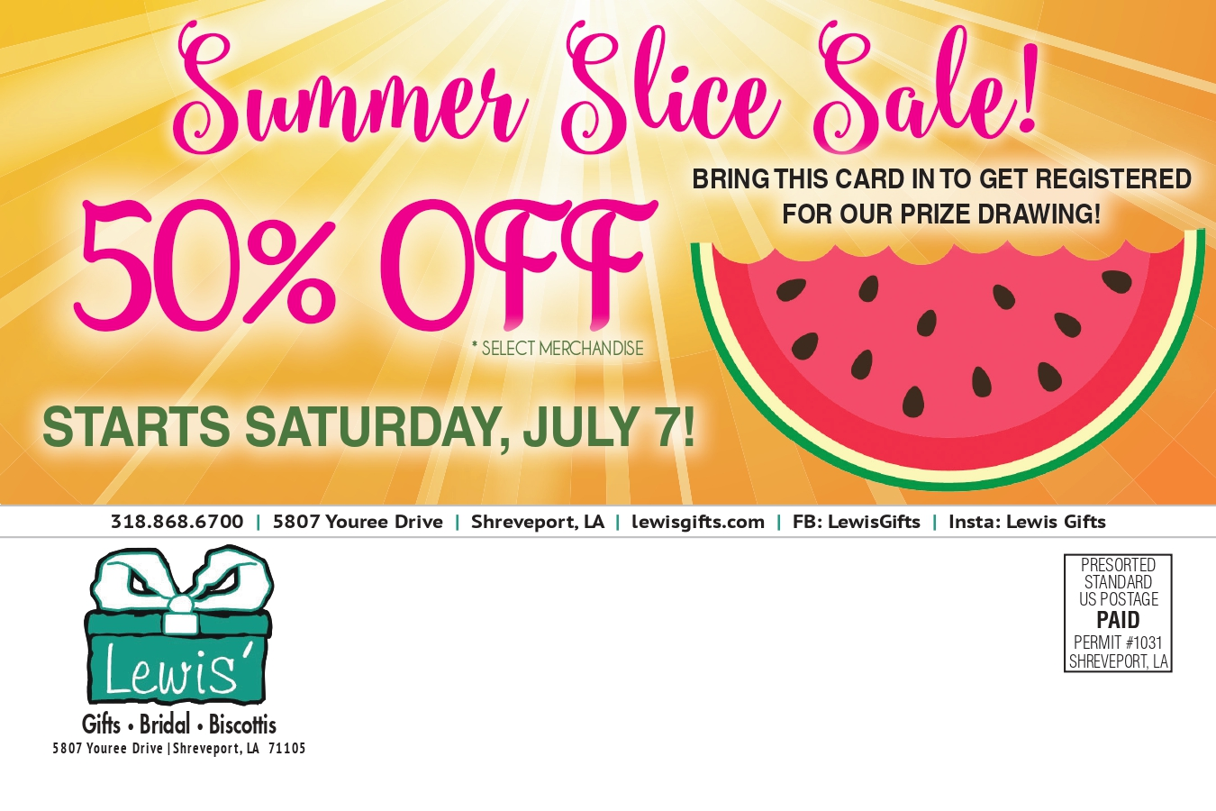 LGIFT Summer Slice Direct Mail Page 2