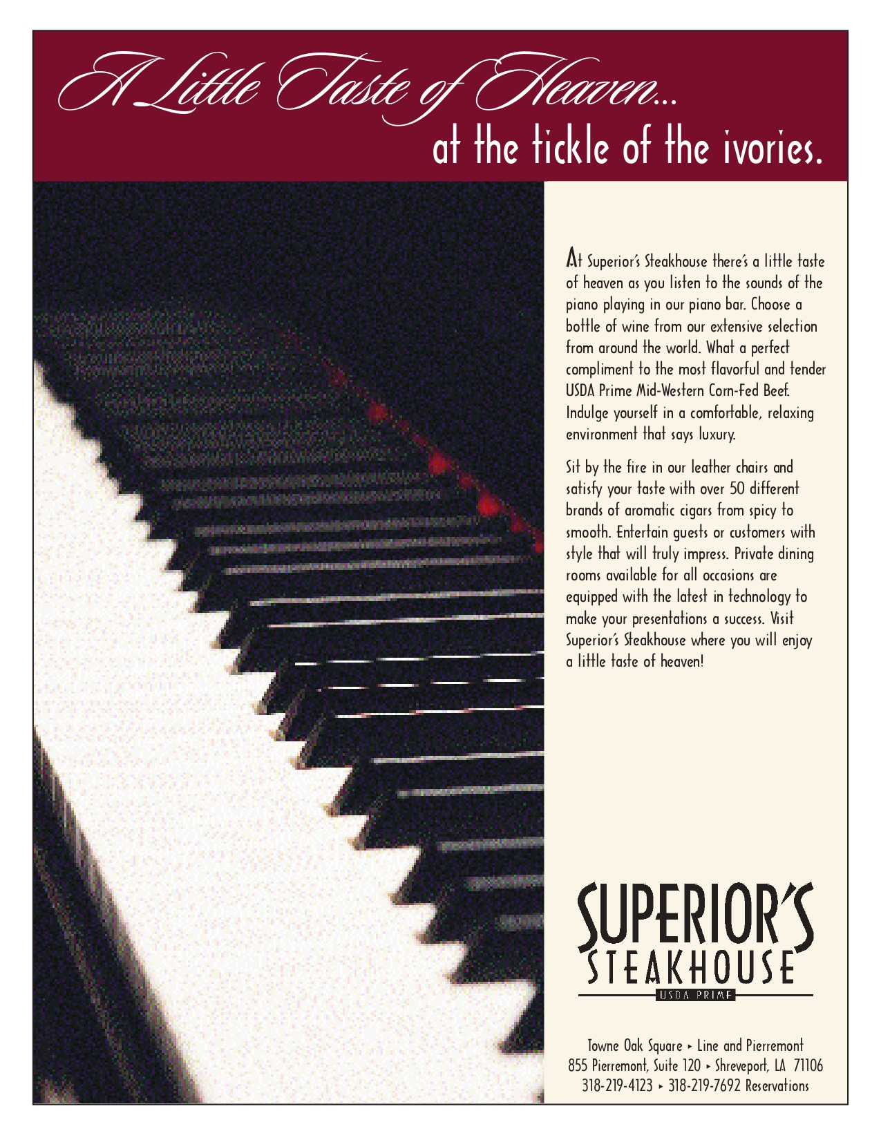 March SB Taste of Heaven ad March SB Taste of Heaven ad page 1