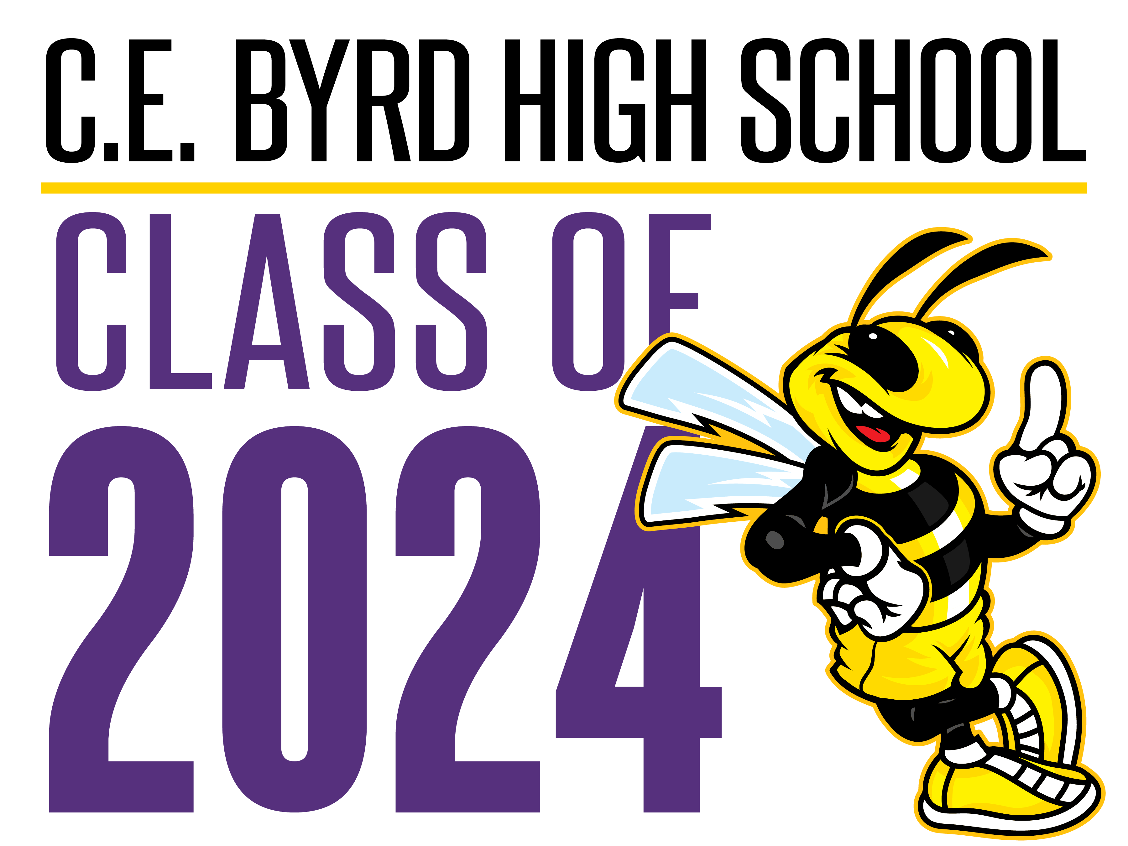 C.E. Byrd Class of 2024 Yard Signs