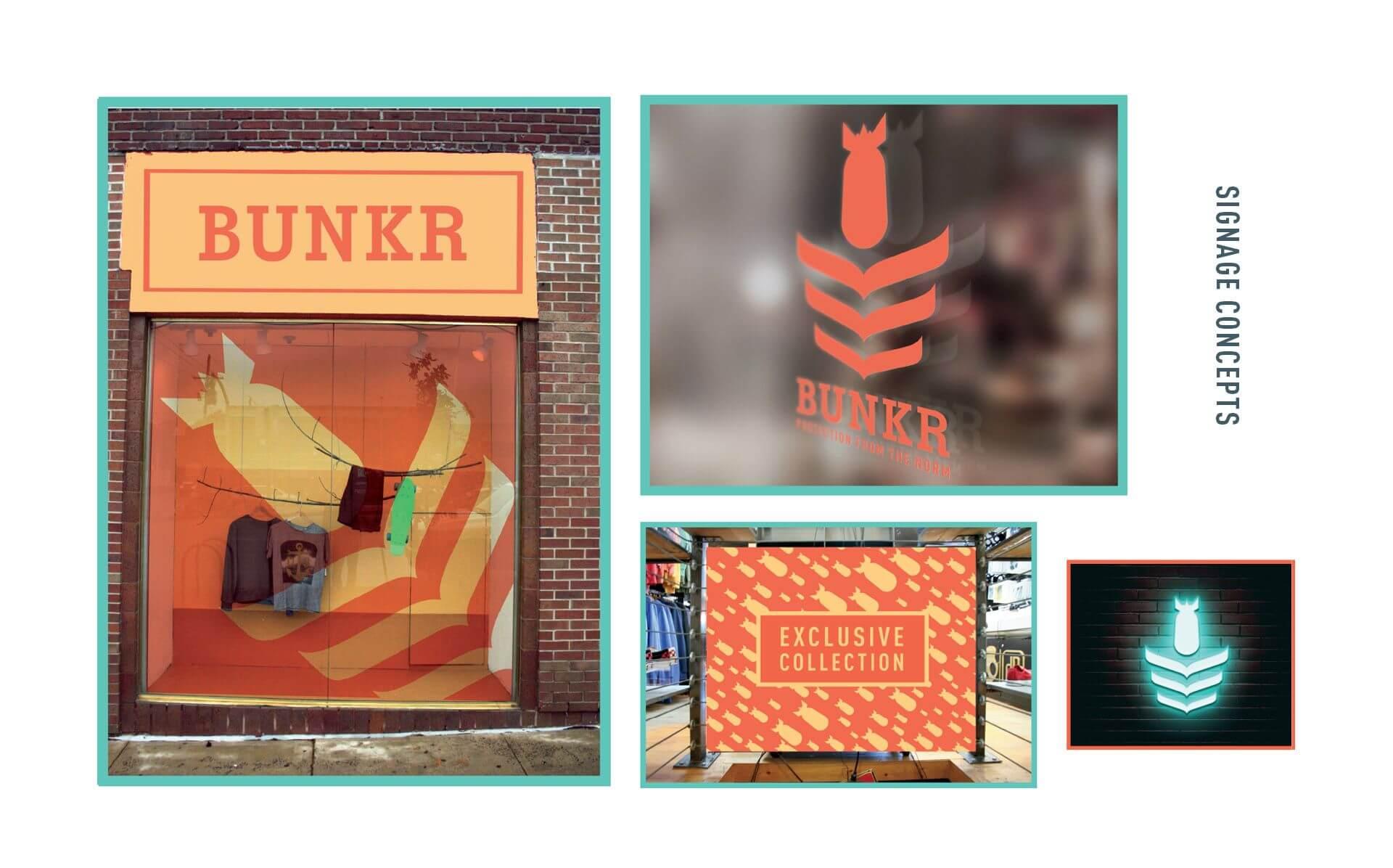 bunkr-signage