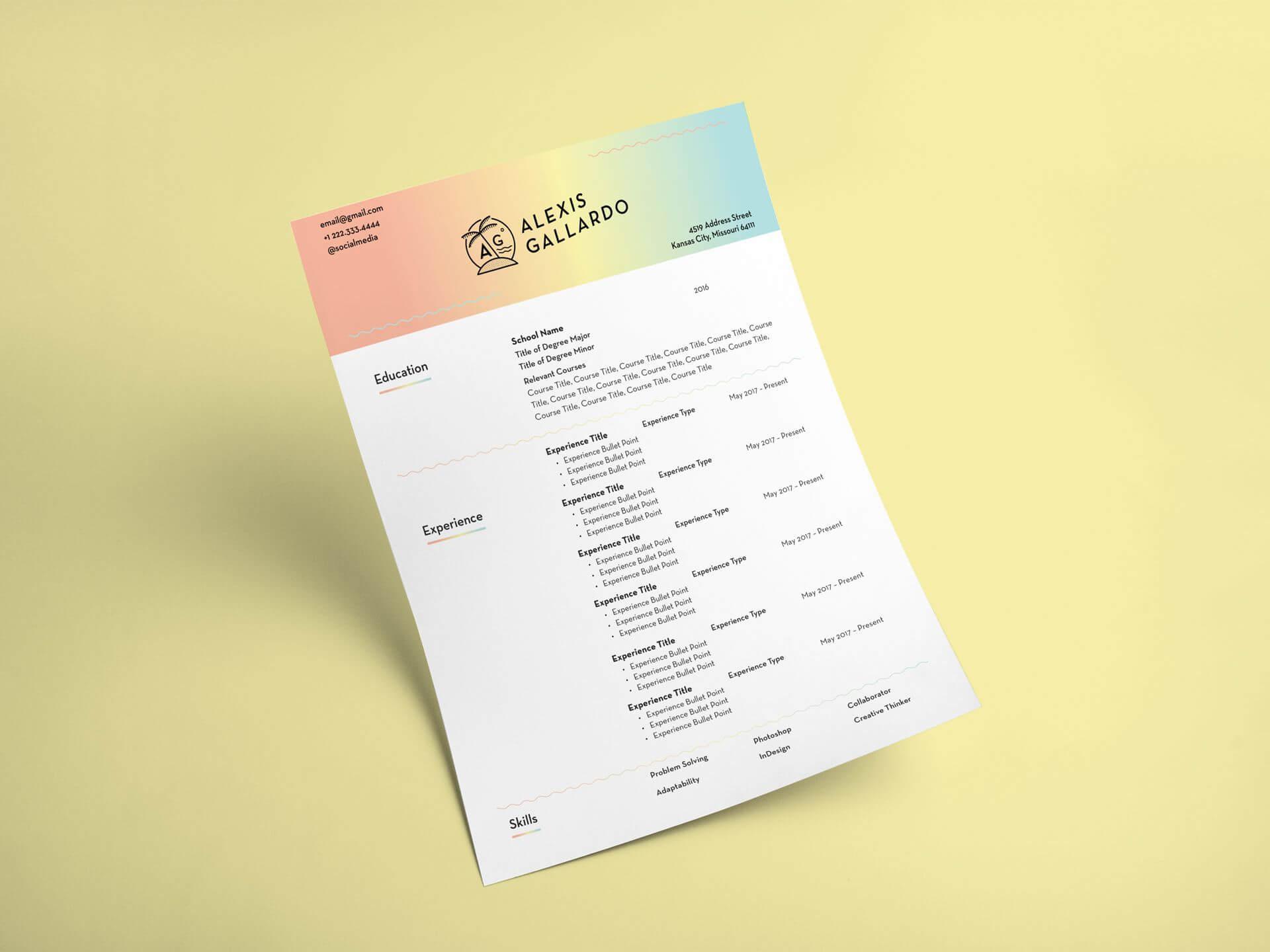 AG-Resume