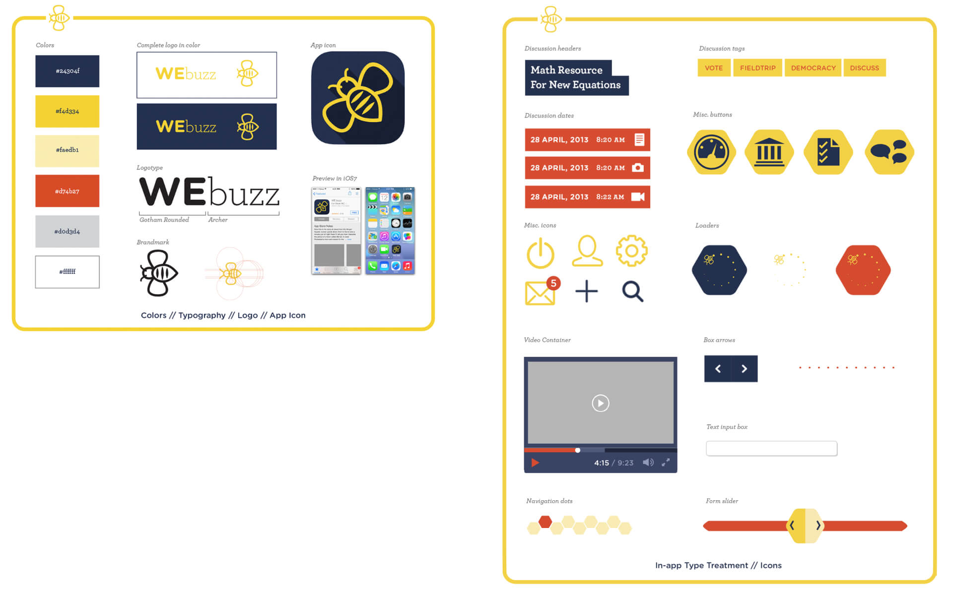 WeBuzz Branding & Components