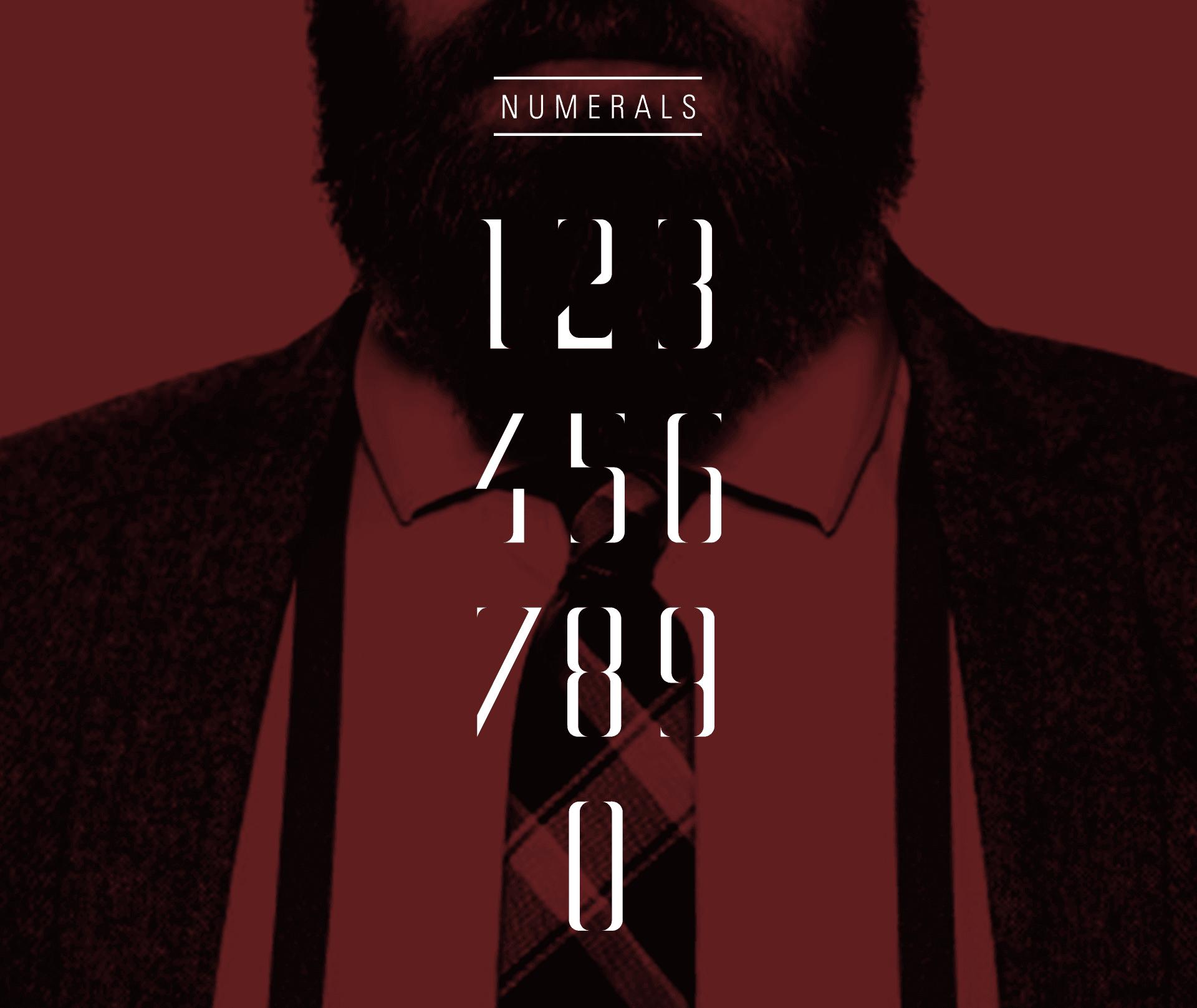 minutia-numerals