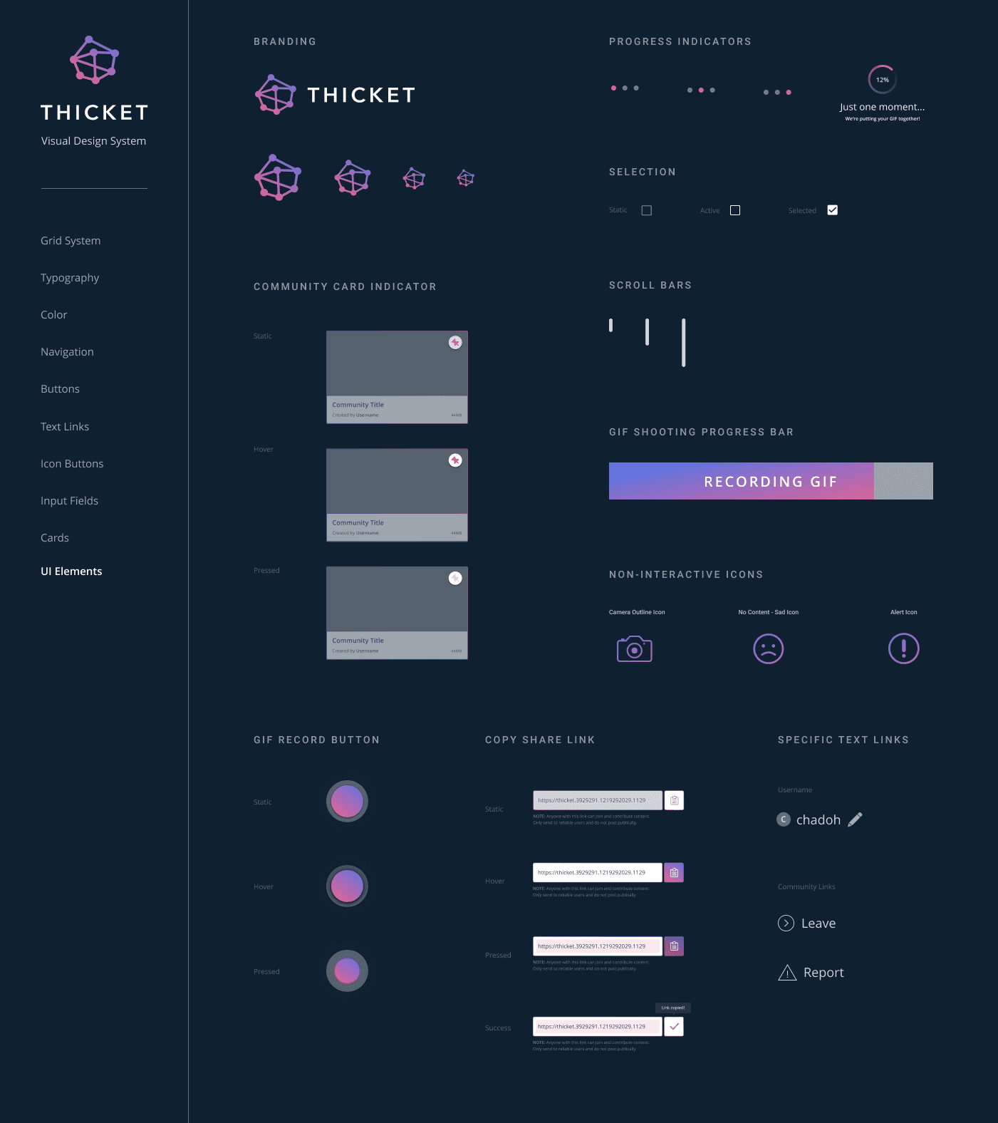 Thicket-UI-Elements