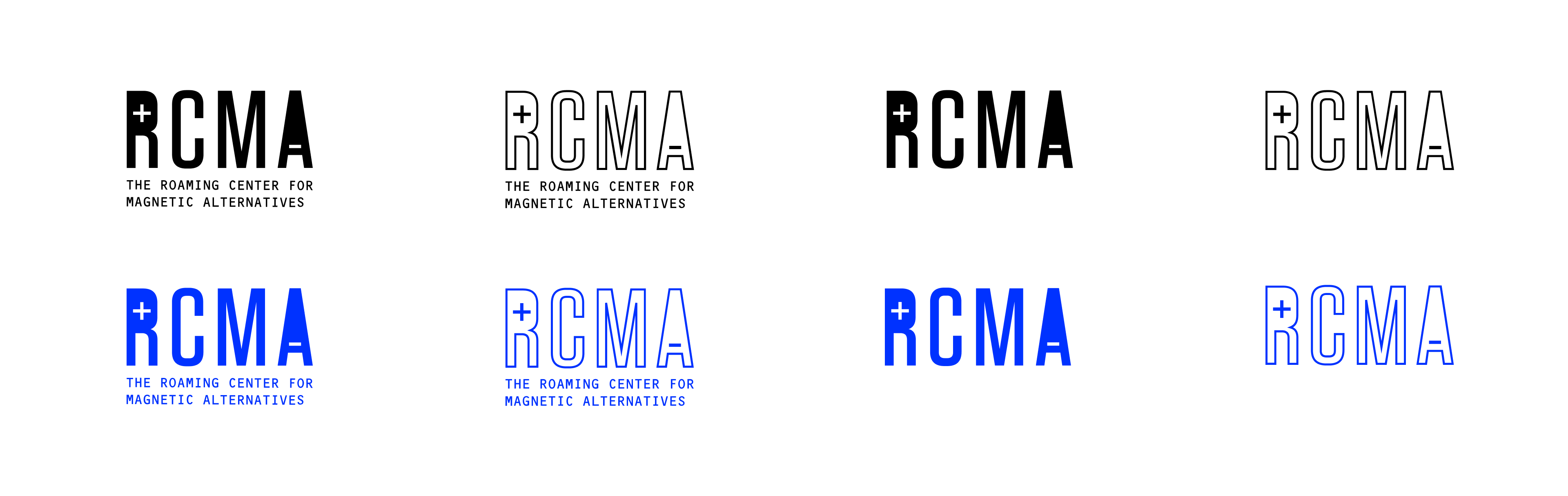 RCMA Logotypes