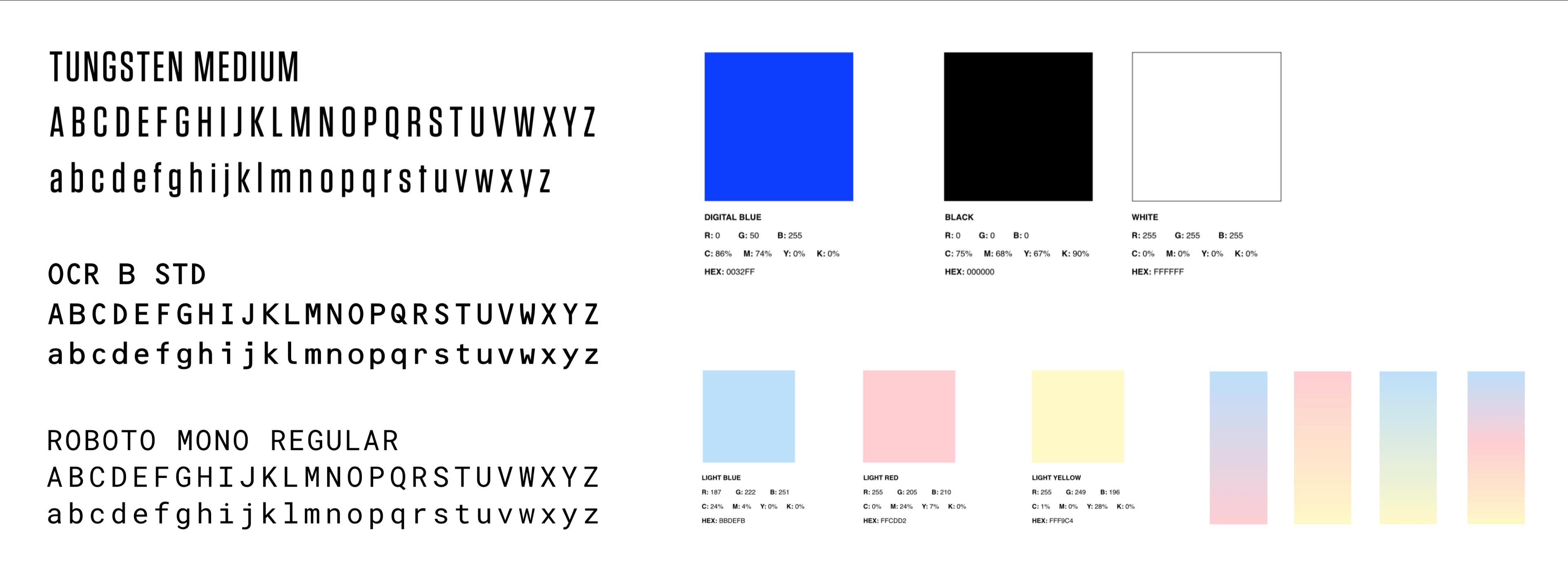 RCMA Typography & Color