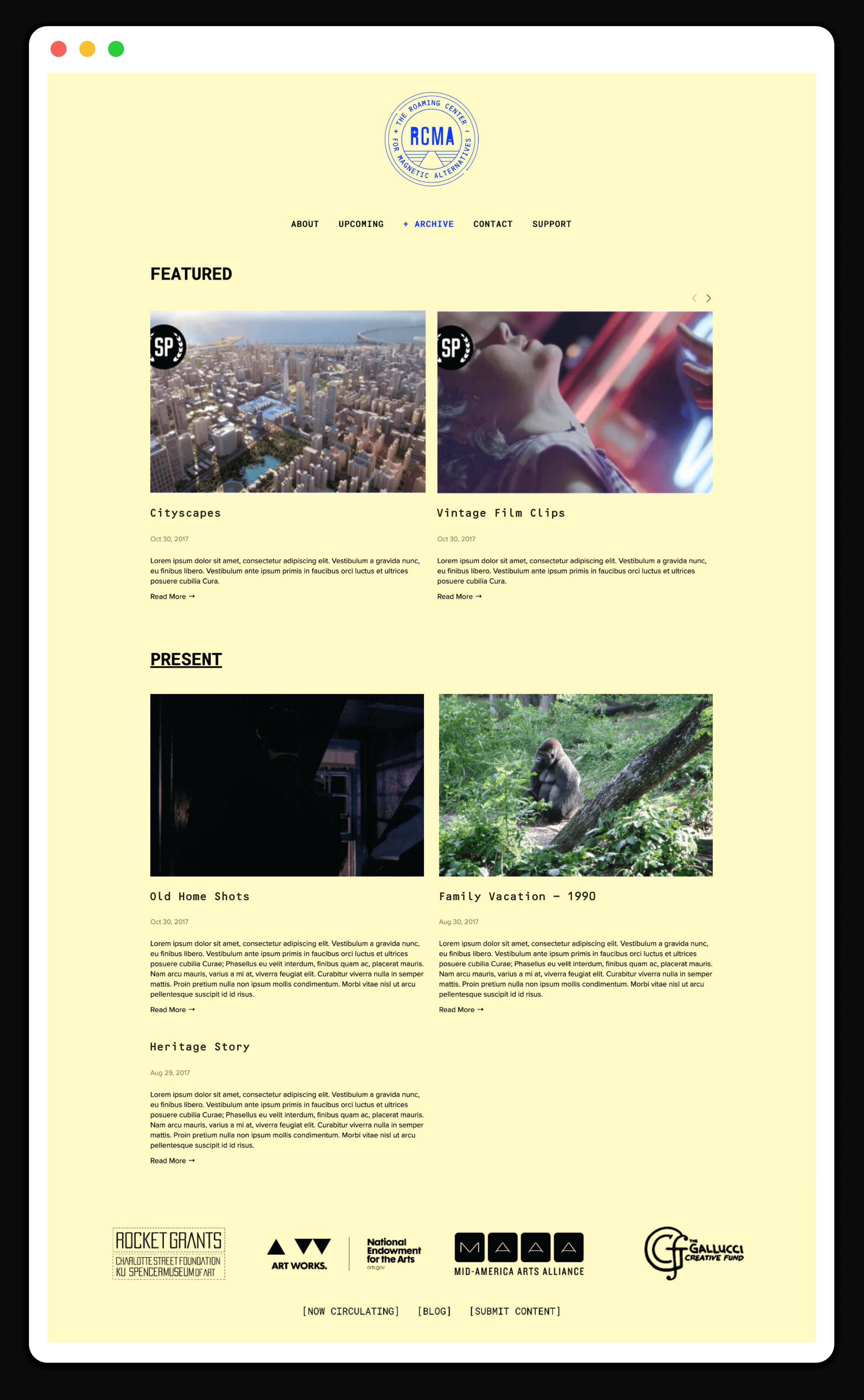 RCMA-Web-Archive