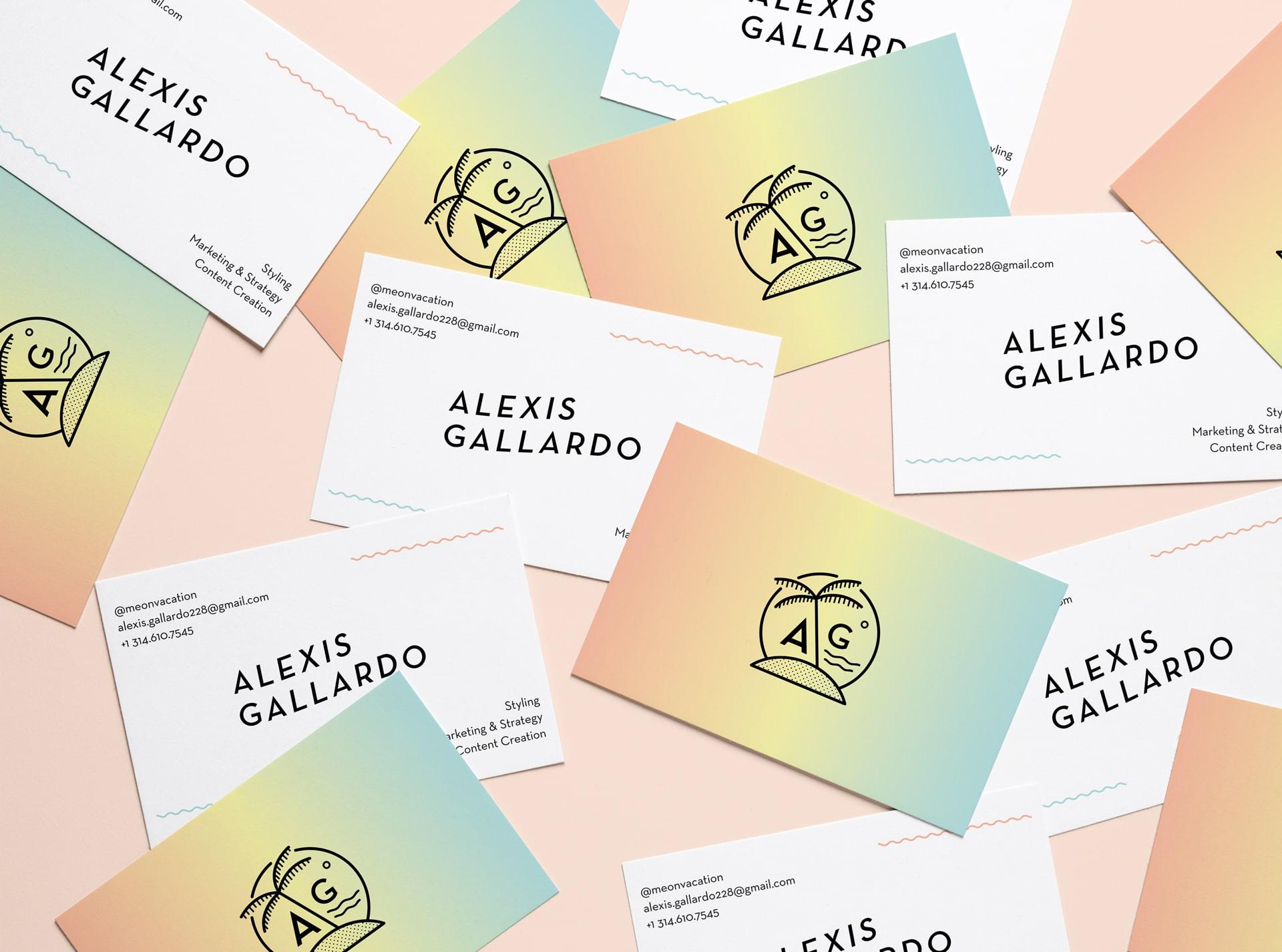 SS Web-More Work-AlexisGallardo Business Card
