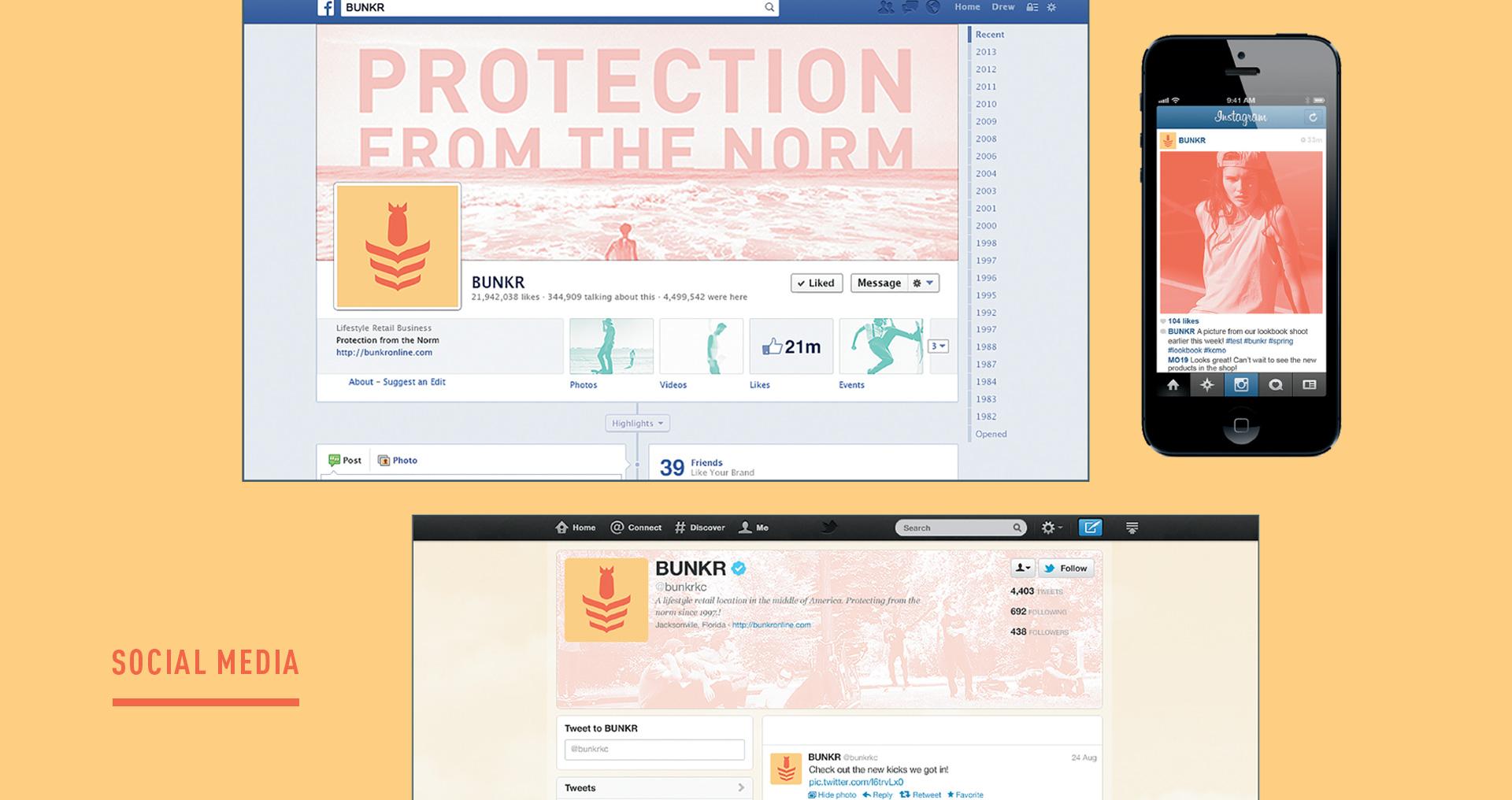 SSWeb-Bunkr-Social Media Overview