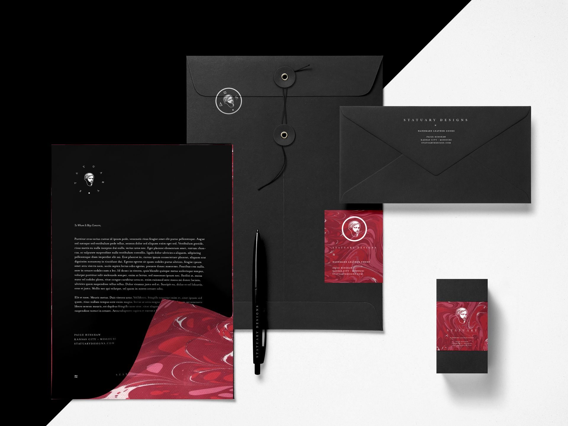 SamSmall Web-StatuaryDesigns-Collateral Design