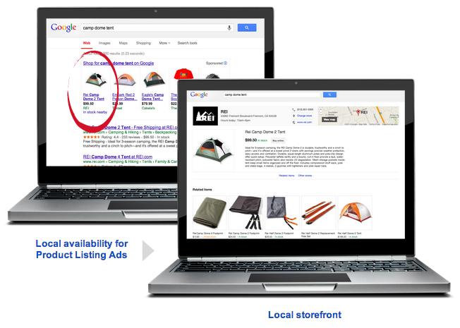 Desktop - Local Inventory Ad
